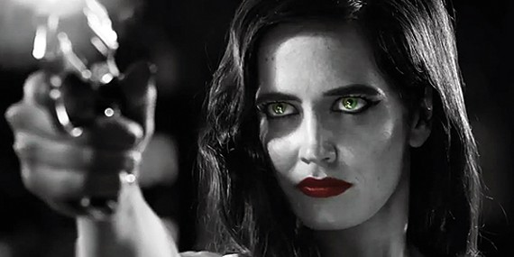 Eva Green as Ava in Sin City: A Dame To Kill For
