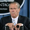 Rumsfeld Steps Down as Defense Secretary