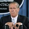 Rumsfeld Steps Down as Defense Secretary