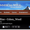 A Post About Steve Cohen, the Commercial Appeal, and Weed