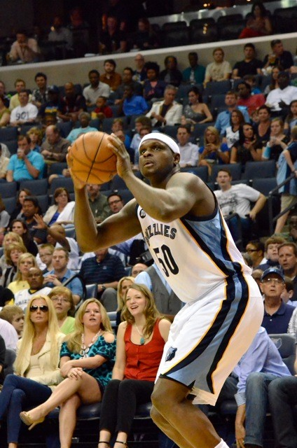 For the record: Zach Randolph was clearly last nights Man of the Match