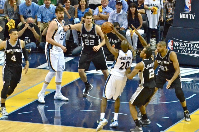 For their best shot, the Grizzlies will want Marc Gasol and Quincy Pondexter on the floor together a lot tonight.