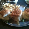Fried Egg Sliders at Slider Inn