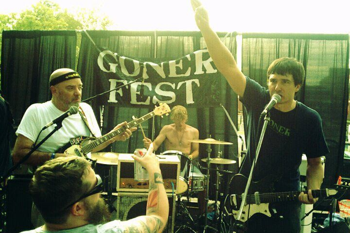 Friedl Performing at Gonerfest 8 with True Sons of Thunder