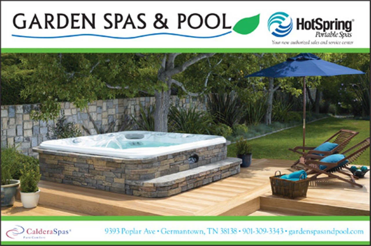 Garden spas pool germantown marketplace home for Garden spas pool germantown tn