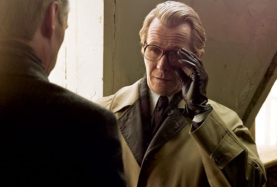 Gary Oldman as John le Carre's spymaster Smiley