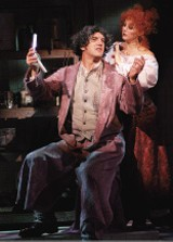 George Dudley and Kim Justis in Sweeney Todd