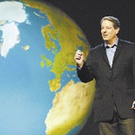 Gore's science lecture is about message and messenger.