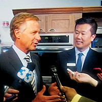 Governor Bill Haslam and Electrolux CEO Jack Truong