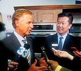 JACKSON BAKER - Governor Bill Haslam and Electrolux CEO Jack Truong