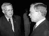 Governor Sundquist and Bob Clement
