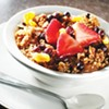 Granola and Yogurt at Cafe Eclectic