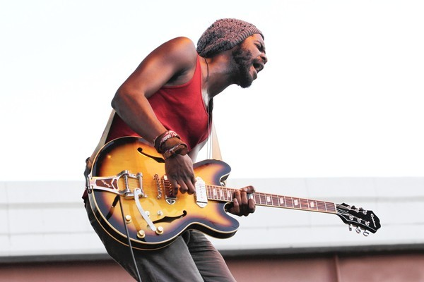 Great blues hope Gary Clark Jr. could bring a younger-than-usual crowd into the Blues Tent Saturday night.