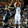 Grizzlies Nip Nuggets, 103-102