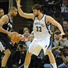 Grizzlies-Spurs, Game Two