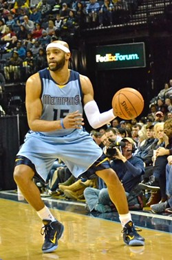 Vince Carter has shown signs of life, but overall his production has been less than stellar. - LARRY KUZNIEWSKI