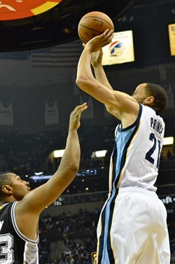 Tayshaun Prince's absence could be felt more strongly at the power forward spot than the small forward spot. - LARRY KUZNIEWSKI