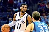 Guard Mike Conley - LARRY KUZNIEWSKI