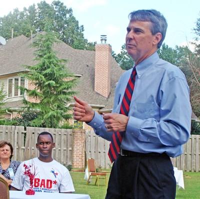 Gubernatorial candidate Roy Herron - JB