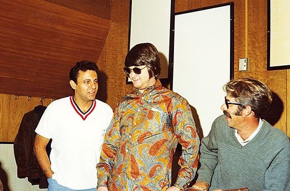 Hal Blaine, Brian Wilson, and Ray Pohlman