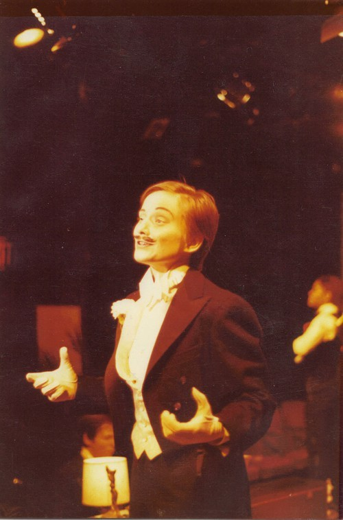 Hall sings Miranda in The Club, 1980