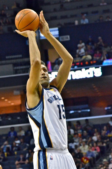Hamed Haddadi is showing signs of becoming more of a rotation fixture.
