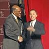 Harold Ford Jr., in Little Rock, Takes on RNC Chairman Steele