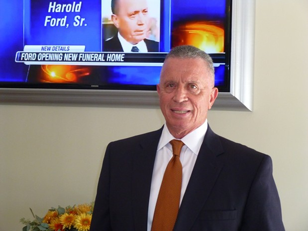 Harold Ford Sr. Not Ready to Retire; Opens New Funeral ...