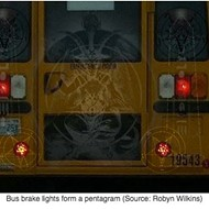 A Closer Look at the Satanic School Bus Photo