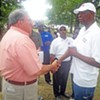 Willie Herenton, in Campaign Mode,  Tries to Ignite a Spark at Sidney Chism's Annual Picnic