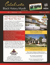 """MEMPHIS AREA ASSOCIATION OF GOVERNMENTS - Heritage & """"Roots"""" Bus Tour Flyer 2015"""