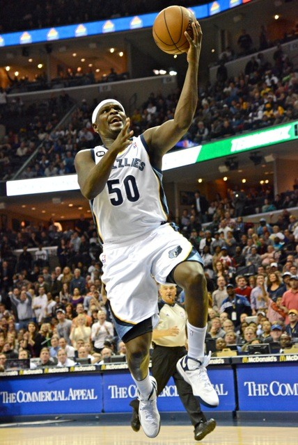 His double-double streak ended, but Zach Randolph still came up strong.
