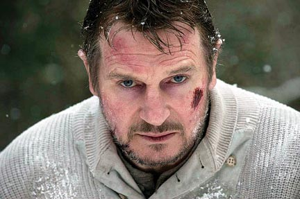 Hit and miss: Liam Neeson in The Grey.