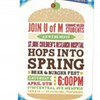 Hops into Spring, Dining Out for Life