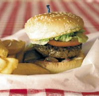 Huey's - 1st Place - Best Burger - JUSTIN FOX BURKS