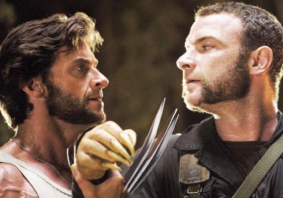 Hugh Jackman and Liev Schreiber