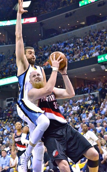 If there's an NBA player equivalent of Colonel Kurtz, it's Chris Kaman, right? - LARRY KUZNIEWSKI