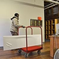 Office Rehab February 21, 2013 In comes the new furniture! Larry Kuzniewski