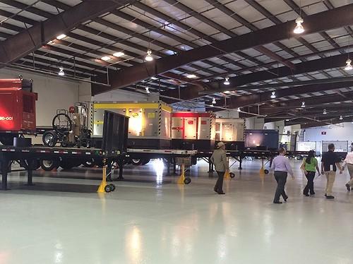 Inside the Regional Response Center in Phoenix.