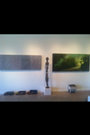 Installation shot (from left: Sheldon Krevit, African Art, Pam Cobb)