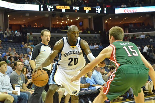 Is Quincy Pondexter going to be the Grizzlies starting small forward before long?