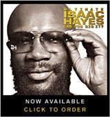 Isaac Hayes' new album