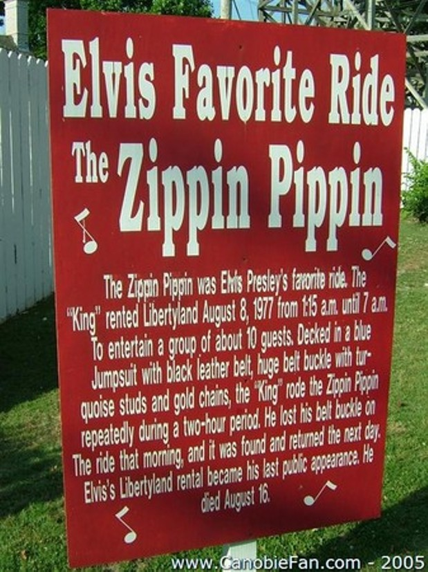 The Zippin Pippin -- Elvis\' Favorite Ride -- Is Donated to Save ...
