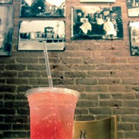 The D-List Italian soda at Square Beans Justin Fox Burks