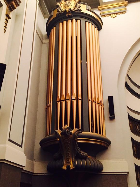 It's an impressive organ. No other way to put it.
