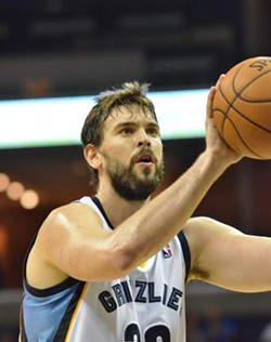 "It's ""just preseason"", but Marc Gasol has been playing at an extremely high level so far. - LARRY KUZNIEWSKI"