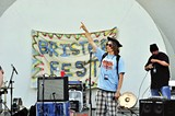 Jack Simon, - founder of Brister Fest