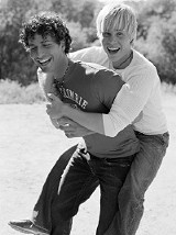 Jason and deMarco in We're All Angels
