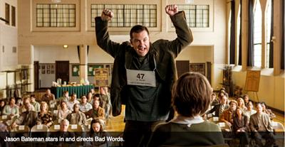 Jason Bateman stars in and directs Bad Words.