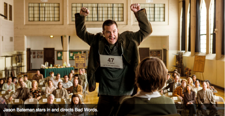 Jason Bateman stars in and directs Bad Words.
